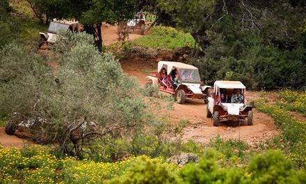 נהיגה זוגית במשך שעה ברכב שטח טומקאר לאורך הנוף המרהיב של הכרמל ב 189 ₪ בלבד! בליווי מדריך צמוד