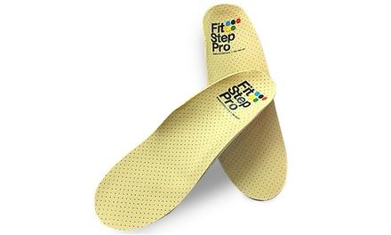 זוג מדרסים פונקציונאליים ב 199 ₪ או זוג מדרסים אורתופדיים ביו מכאניים בהתאמה אישית ב 289 ₪. תקף ב 8 סניפי Fit Step Pro